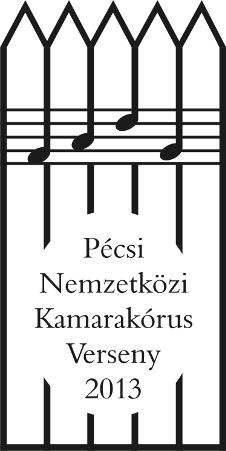 23. Pécsi Nemzetközi Kamarakórus Verseny - logo